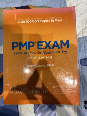 PMP EXAM How to Pass On Your First Try for Sale in Palatine, IL