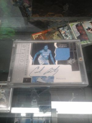 Carmelo Anthony signed autographed jersey basketball card rookie for Sale in Charlotte, NC