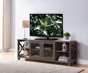 TV Stand up to 70in TV, Walnut Oak for Sale in Westminster, CA