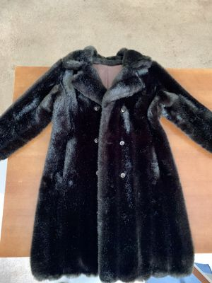 Vintage Hillmoor Faux Mink Coat for Sale in Huntington Beach, CA