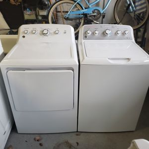 GE Top Load Washer and Electric Dryer Set! Huge Savings! $1600 New at Box Store! Free Delivery! for Sale in Virginia Beach, VA