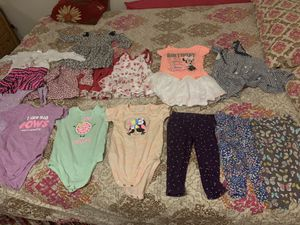 Baby girls clothes 12 to 18 months 12 pices excellent condition for Sale in Falls Church, VA