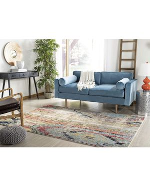 Bohemian Distressed Area Rug, 8' x 10', Multicolored for Sale in San Diego, CA