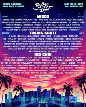 ONE ROLLING LOUD TICKET MAY 10-13 THREE DAY GA for Sale in UNIVERSITY PA, MD