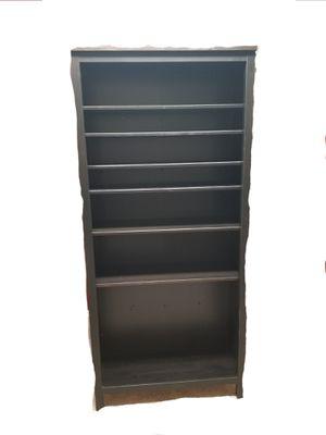 IKEA Black Bookcase. 77x36x15 for Sale in Weston, FL