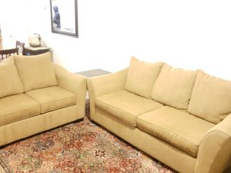 For Sale! Couch & Loveseat Set With End Tables And Lamp Set From RC Willey for Sale in Murray,  UT