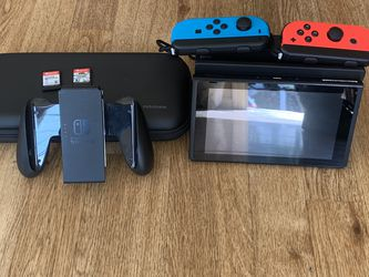 Nintendo Switch Games And 3 Year Protection Plan for Sale in Hillsborough,  CA