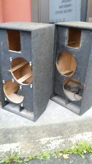 Free speaker box cabinets for Sale in Everett, WA