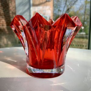 "Mikasa ""Skyline"" - Red-Lead Crystal Votive Candle Holder for Sale in Bethesda, MD"