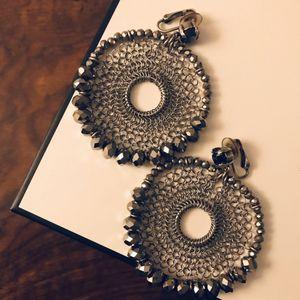 Beaded Mesh Clip Earrings for Sale in Washington, DC