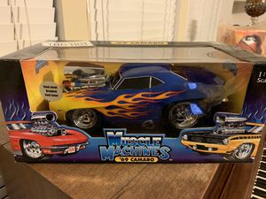 1969 Camaro Muscle Machines 1:18 scale for Sale in Pasadena, TX