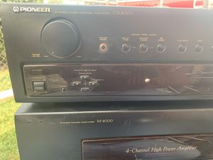 Pioneer stereo receiver amplifier .320 w. $$. 100 dlls!!! for Sale in Waco, TX
