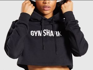 Gymshark Cropped Crest Hoodie🖤 for Sale in Los Angeles, CA