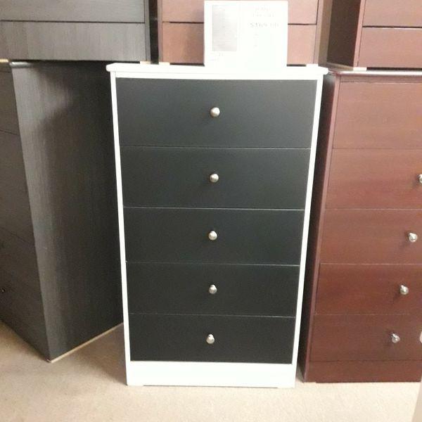 Brand New Big 5 Drawer dresser