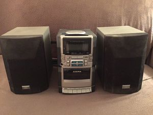 Audiovox mini am/fm/cd/cassette stereo system for Sale in Pittsburgh, PA