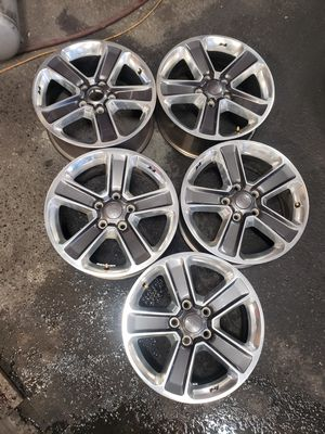 2018 Jeep WRANGLER wheels R18 ×5 for $260 all 4 . for Sale in Fife, WA