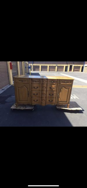 Buffet table/dresser/chest/cabinet/storage/antique for Sale in Downey, CA