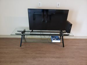 """Miles Glass 63"""" TV Stand for Sale in Gulf Stream, FL"""
