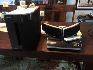 Philips home theater with subwoofer for Sale in Port St. Lucie, FL