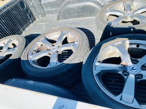 ACURA TL stocks for sale tires are 50% of life..am asking $300 for them for Sale in Fresno, CA
