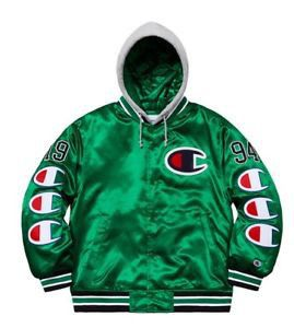 SUPREME × CHAMPION KELLY GREEN HOODED JACKET THIS IS A PEICE OF SUPREME GOLD RIGHT HERE MAKE AN OFFER BID STARTS AT $500 for Sale in Euless, TX