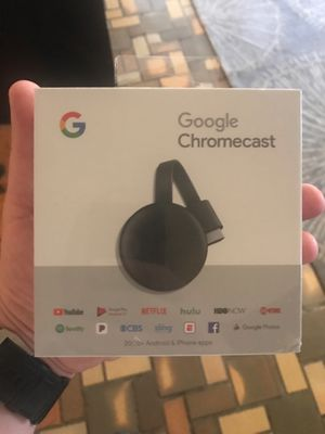 Chromecast new sealed price is firm for Sale in Miami Beach, FL