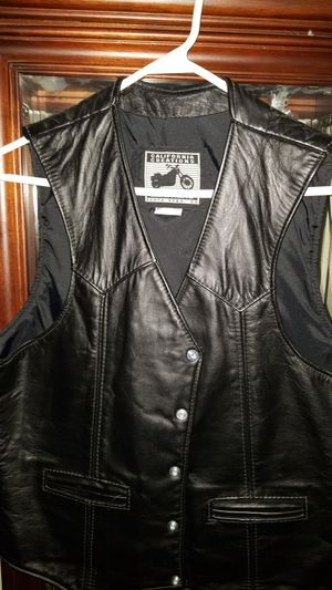Vest California Creations Leather for Sale in Elgin, IL