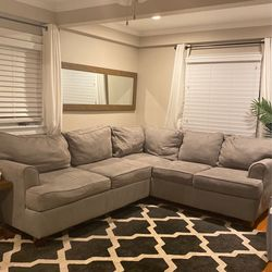 Jordan's Furniture Klaussner Homes Furnishings Sparks 2 Piece Sectional for Sale in Danvers,  MA