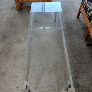GLASS COFFEE TABLE RECTANGULAR for Sale in Los Angeles, CA