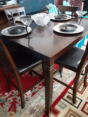Pub table & 4chairs for Sale in Decatur, GA