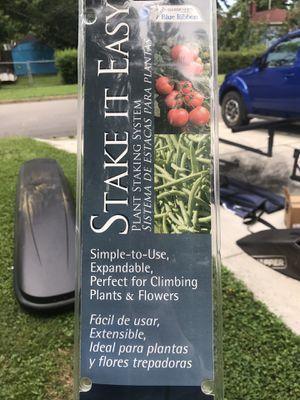 Garden Staking Kit for Sale in Norfolk, VA