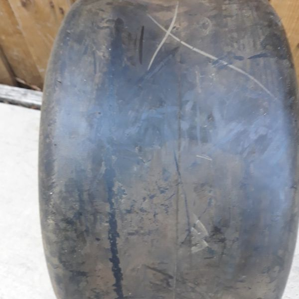1 tractor tire 20X10.00-10 smooth tread