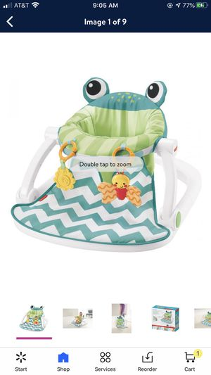 Diapers never opened sit me up frog for Sale in Waverly, NY