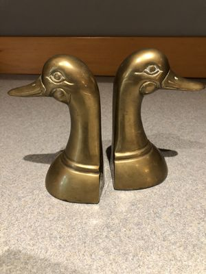 Vintage brass duck bookends for Sale in Kent, WA