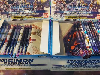 Digimon Booster Packs 29 Packs Available for Sale in Lakewood,  CA