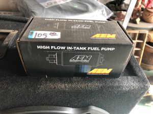 AEM high flow in tank fuel pump for Sale in Olympia, WA