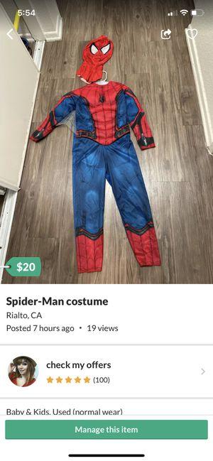 Spider-Man costume for Sale in Rialto, CA