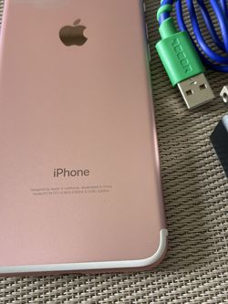 Iphone 7 Rose Gold 128gb factory unlocked (firm price) for Sale in Fort Lauderdale,  FL