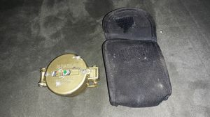 Engineering Directional Compass with case for Sale in Columbus, MS