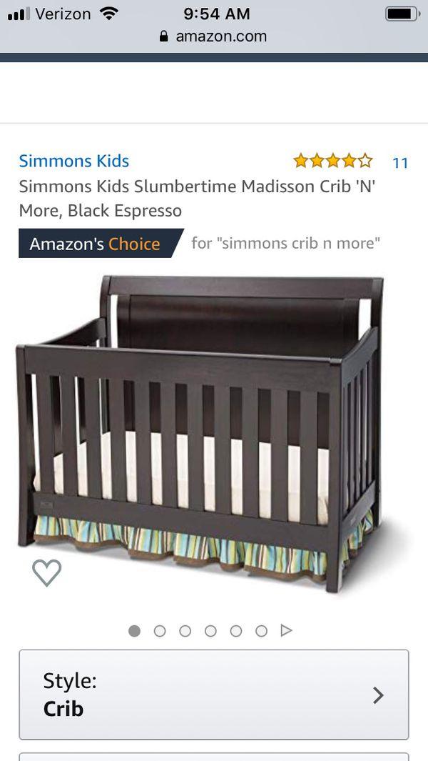 Simmons Madisson Crib n More