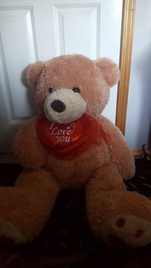 Large 40inch teddy bear for Sale in Mukilteo, WA