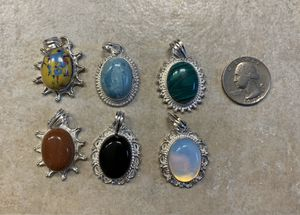 6 new sterling silver 925 pendants for Sale in Palatine, IL