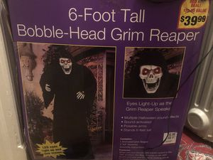 Grim reaper Halloween decor for Sale in Springfield, VA