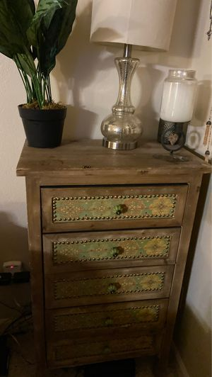 5 drawer beautifully painted dresser for Sale in Boulder, CO