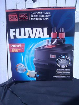 Fluval 306 canister aquarium filter 70 gallon fish tank NEW for Sale in Miami, FL
