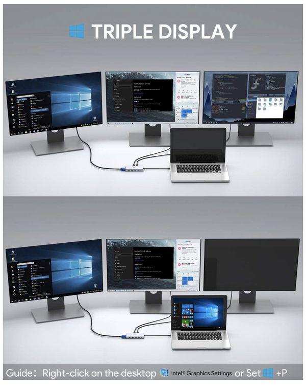 Aukey 12 in USB-C Hub