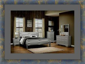 11 PC gray Marley bedroom set for Sale in Alexandria, VA