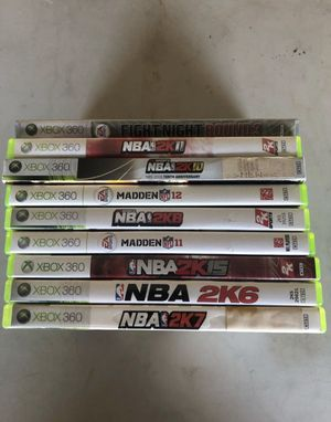 Xbox 360 games... $5 each for Sale in Homestead, FL