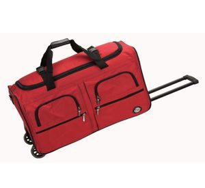 36 in. Rolling Duffle Bag, Red for Sale in Plano, TX
