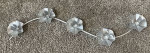 METAL 5 STAND ROSES CANDLE HOLDER HOME DECOR ACCENT for Sale in NC, US